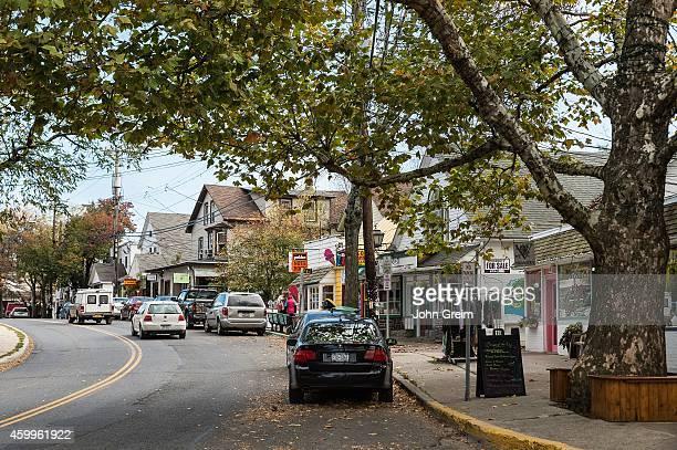 Downtown Woodstock village