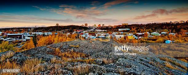 Downtown Yellowknife