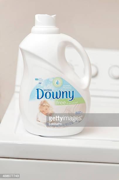 weiche kostenlose weichspüler auf waschmaschine - weichspüler stock-fotos und bilder