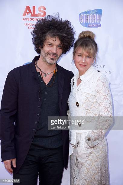 Doyle Bramhall and Actress Renee Zellweger attend One Stary NightFrom Broadway To Hollywood In support of the Gloden West Chapter of the ALS...