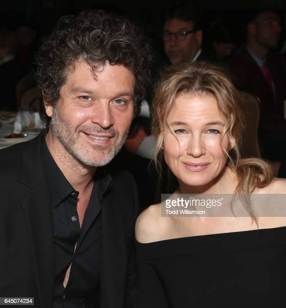 Doyle Bramhall II and Renee Zellweger attend the 54th Annual International Cinematographers Guild Publicists Awards at The Beverly Hilton Hotel on...