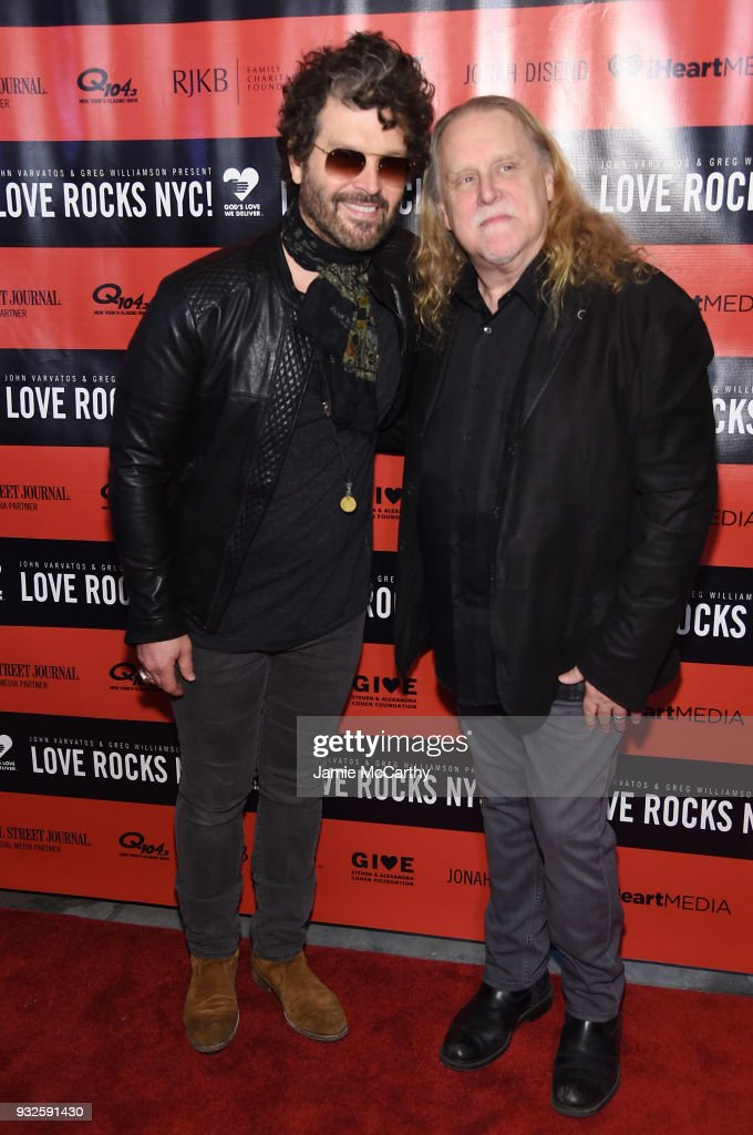 The Second Annual LOVE ROCKS NYC! A Benefit Concert for God's Love We Deliver - Red Carpet