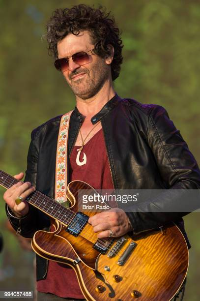 Doyle Bramhall II performs live with Eric Clapton at Barclaycard present British Summer Time Hyde Park at Hyde Park on July 8 2018 in London England