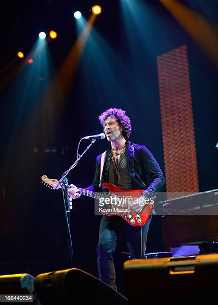Doyle Bramhall II performs on stage during the 2013 Crossroads Guitar Festival at Madison Square Garden on April 12 2013 in New York City