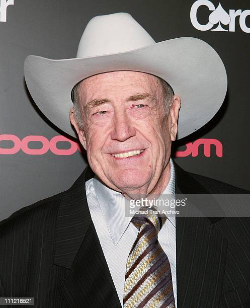Doyle Brunson during Bodogcom Presents 'Card Player's Player of The Year' Awards Arrivals at Henry Fonda Theatre in Hollywood CA United States