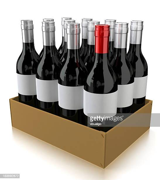 dozen wine bottles - dozen stock pictures, royalty-free photos & images