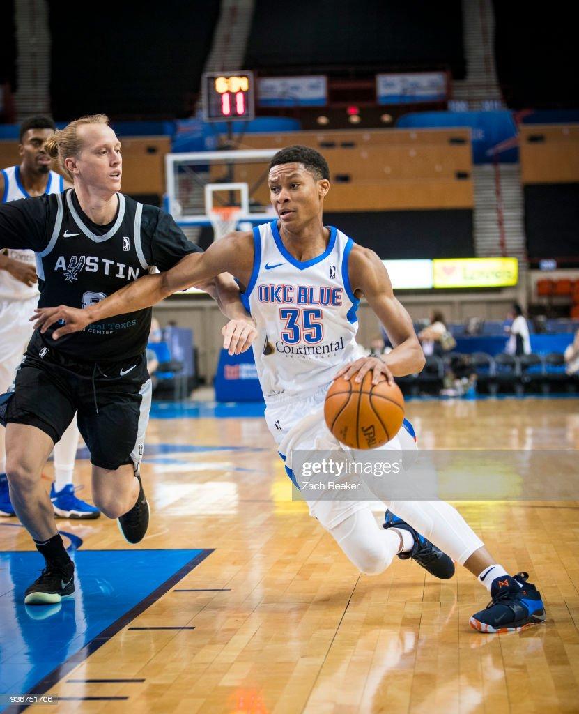 Austin Spurs v Oklahoma City Blue