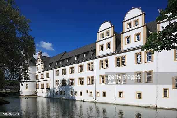DPaderborn North RhineWestphalia NRW DPaderbornSchloss Neuhaus Neuhaus castle Weser renaissance