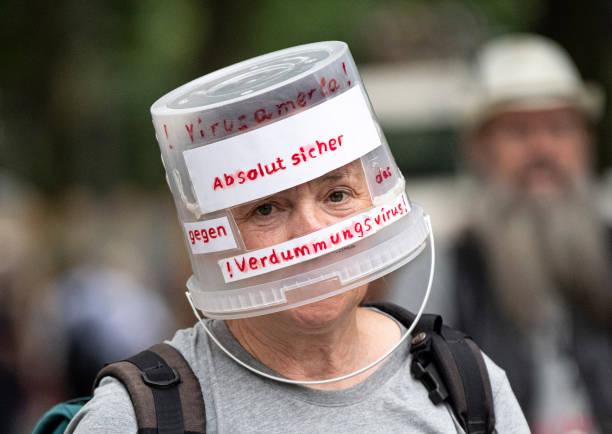 DEU: Demonstration Ban In Berlin