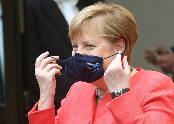 DEU: Angela Merkel Speaks At Federal Council