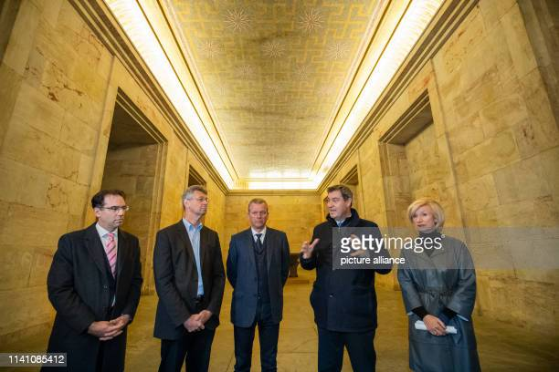 Daniel Ferdinand Ulrich Planning and Construction Officer of the City of Nuremberg Michael Piazolo Minister of Education and Cultural Affairs of...