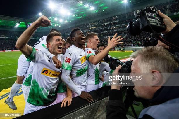 Dpatop - 07 December 2019, North Rhine-Westphalia, Mönchengladbach: Soccer: Bundesliga, Borussia Mönchengladbach - Bayern Munich, 14th matchday in...