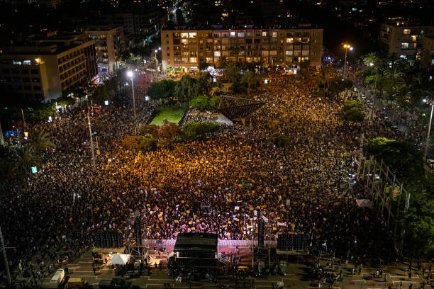 ISR: Protest Against Financial Fallout In Israel