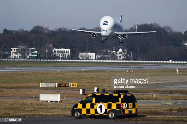 An Airbus Beluga 2 transport aircraft lands on the runway of the Airbus factory in Finkenwerder The IG Metall trade union has reacted with...