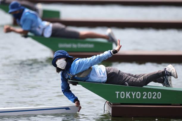 JPN: Tokyo 2020 - Rowing - Preliminaries In Sea Forest Waterway