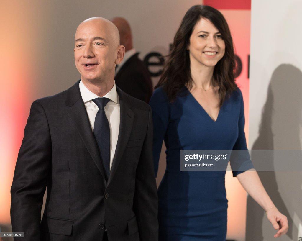 Axel Springer award ceremony : News Photo