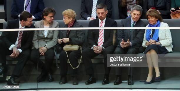 dpatop Goverment spokesperson Steffen Seibert Angela Merkel's office manager Beate Baumann Herlind Kasner mother of German Chancellor Angela Merkel...