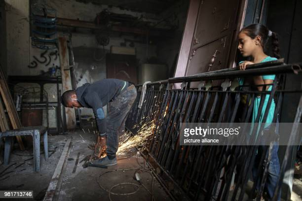 dpatop Palestinian blacksmith Ali Banat makes Keys of Return which symbolize the right of Palestinian refugees to return to homes they were expelled...