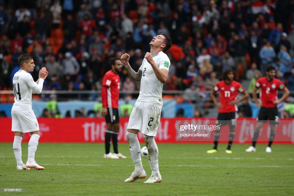 FIFA World Cup 2018 - Egypt vs Uruguay : News Photo