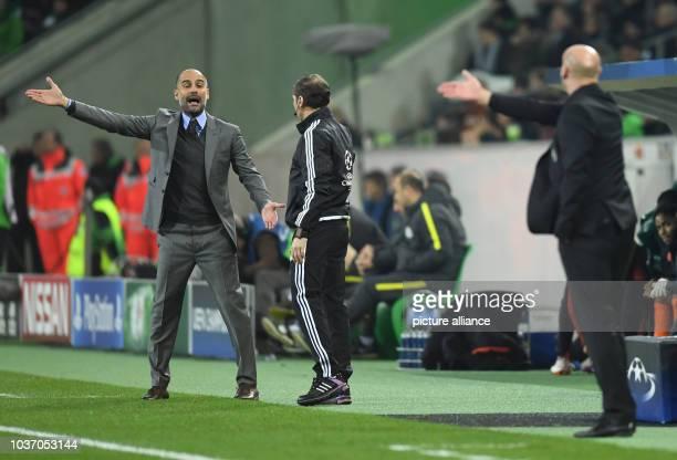 Champions League Borussia Mönchengladbach Manchester City Gruppenphase Gruppe C 5 Spieltag am in Stadion im BorussiaPark Mönchengladbach...