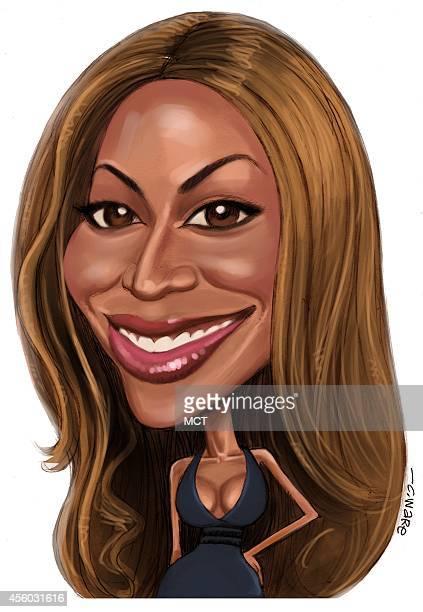 USA 2014 300 dpi Chris Ware caricature of Beyonce