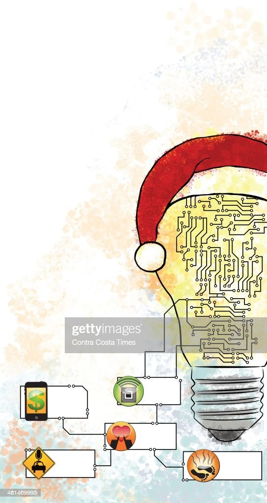 ILLUSTRATION: Tech holiday gifts : News Photo