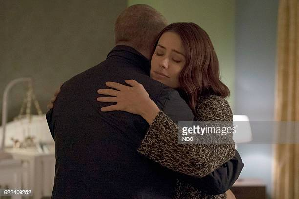 THE BLACKLIST 'Dr Adrian Shaw Conclusion' Episode 408 Pictured James Spader as Raymond 'Red' Reddington Megan Boone as Elizabeth Keen