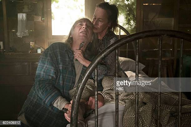 THE BLACKLIST 'Dr Adrian Shaw Conclusion' Episode 408 Pictured Leon Rippy as Hunter Susan Blommaert as Mr Kaplan