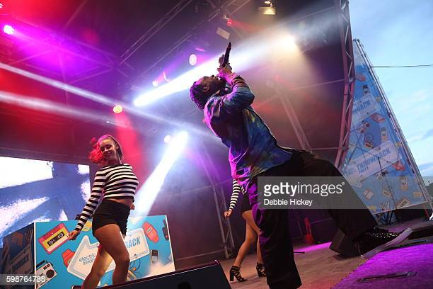 Dr Alban performs at Electric Picnic Festival at Stradbally Hall Estate on September 2 2016 in Dublin Ireland