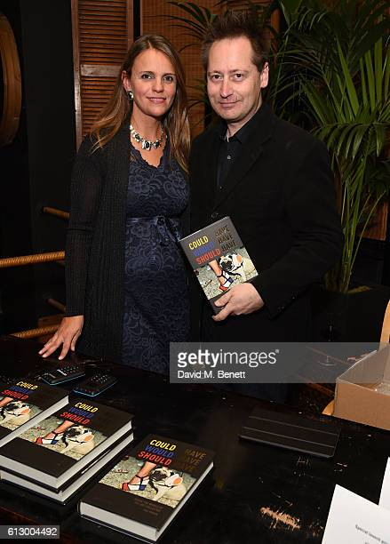 Dr Alessandra MasoliniBrown and Andrew Brown attend the launch of new book Could Have Would Have Should Have Inside The World Of The Art Collector By...