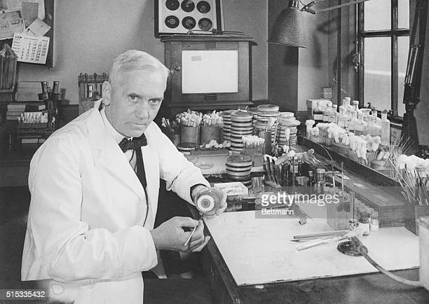 Dr Alexander Fleming discovered penicillin