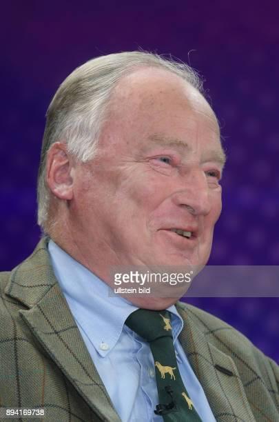 Dr Alexander Gauland in der ZDFTalkshow maybrit illner am in Berlin Hass auf die Politik Gefahr für die Demokratie