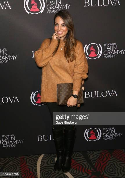 Dr Alexandra Lourdes Attends The Gift Lounge During The 18th Annual Latin Grammy Awards At Mgm