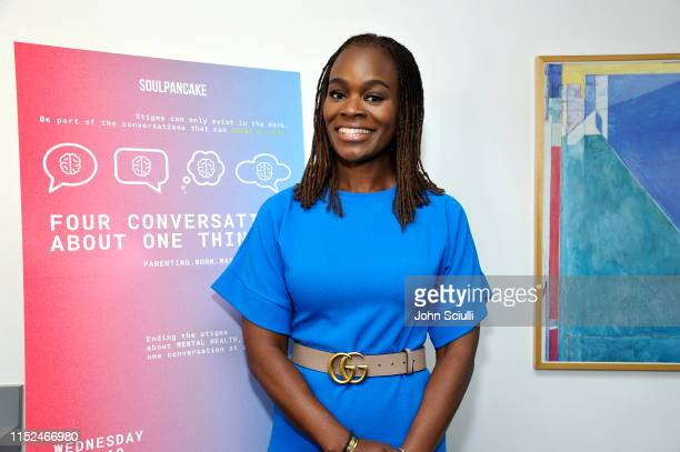 Dr Alfiee BrelandNoble attends SoulPancake's Four Conversations about One Thing at Hammer Museum on May 29 2019 in Los Angeles California