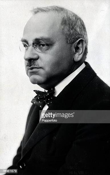 Dr Alfred Adler an Austrian psychiatrist who was born and trained in Vienna pictured in Austria 1934