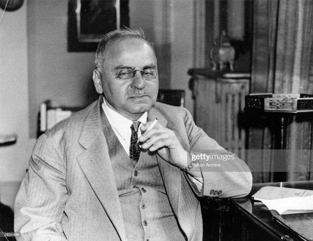 Dr Alfred Adler : News Photo