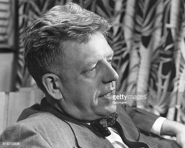 Dr Alfred Kinsey author of the Kinsey Report a survey of the sexual behavior of American men and women Undated photograph