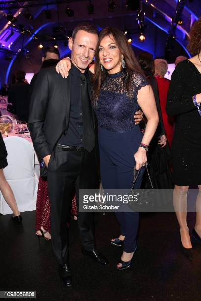 Dr Alice Brauner and her husband Michael Zechbauer during the Cinema for Peace Gala at the Westhafen Event Convention Center on February 11 2019 in...