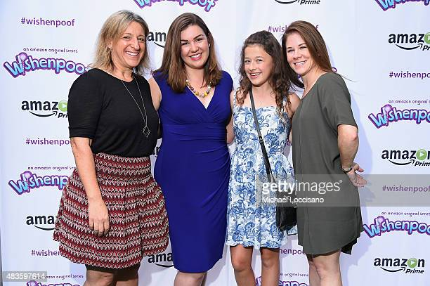 Dr Alice Wilder Monica Dennis Addison Holley and Tara Sorensen attend the premiere screening event for Amazon Original Kids Series 'Wishenpoof' on...