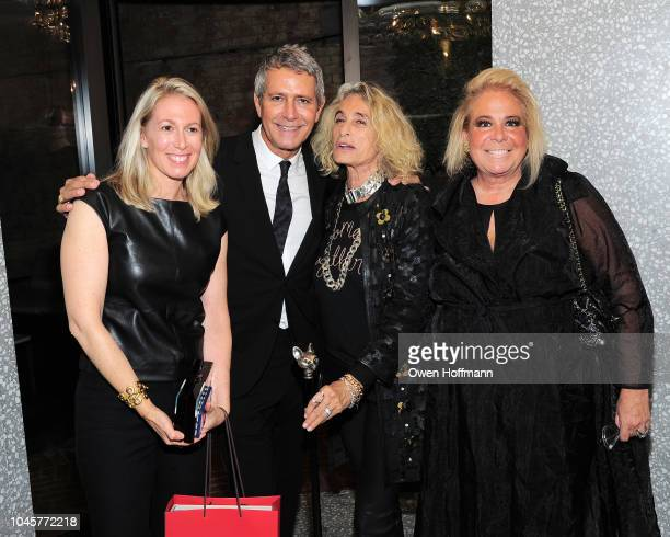 Dr Aly Cohen Carlos Souza Ann DexterJones and Joanna Fisher attends Valentino Kick Off For Casita Maria's Fiesta 2018 at Valentino Boutique on...