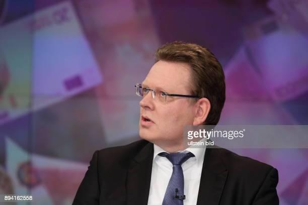 Dr Andreas Hollstein in der ZDFTalkshow maybrit illner am in Berlin Integration oder Spaltung Ð Was kostet uns der soziale Frieden