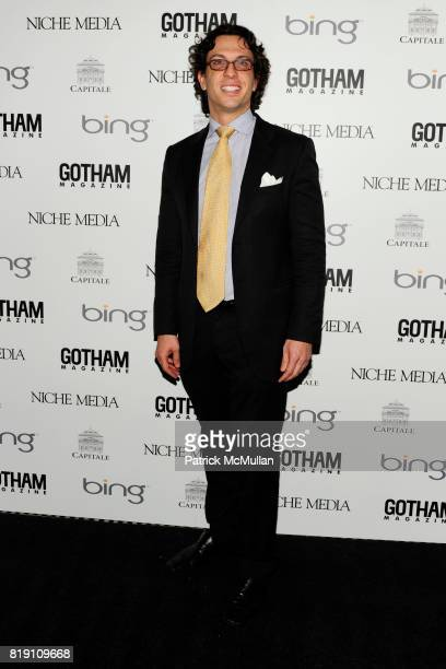 Dr Andrew Jacono attends ALICIA KEYS Hosts GOTHAM MAGAZINES Annual Gala Presented by BING at Capitale on March 15 2010 in New York City