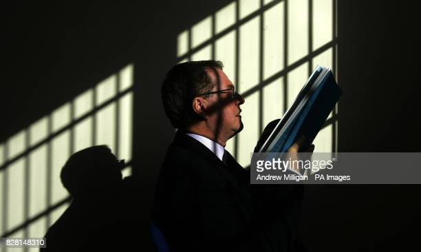 Dr Andrew McLellan Her Majesty's Chief Inspector of Prisons in Scotland at Polmont Young Offenders Institute with his annual report which is...