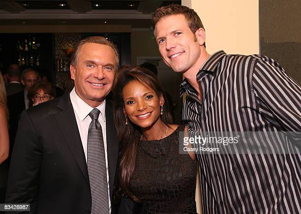 Dr Andrew Ordon Dr Lisa Masterson and Dr Travis Stork attend the Roxbury Surgical Association Fall Celebration at the Mosaic Hotel on October 24 2008...