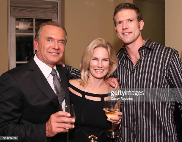 Dr Andrew Ordon Robin Ordon and Dr Travis Stork attend the Roxbury Surgical Association Fall Celebration at the Mosaic Hotel on October 24 2008 in...