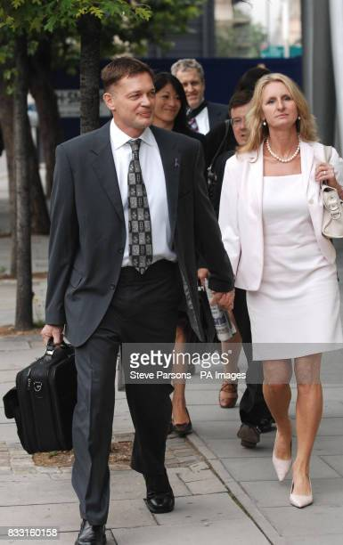 Dr Andrew Wakefield and his wife Carmel arrive at a General Medical Council hearing in central London where Dr Wakefield will hear disciplinary...