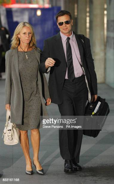 Dr Andrew Wakefield and his wife Carmel arrive at a General Medical Council hearing in central London