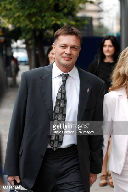 Dr Andrew Wakefield arrives at a General Medical Council hearing in central London to hear disciplinary charges against him