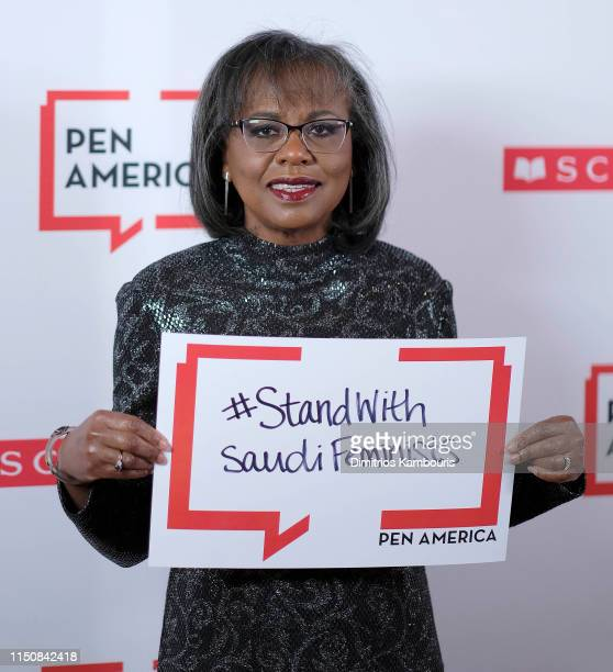 Dr Anita Hill attends the 2019 PEN America Literary Gala at American Museum of Natural History on May 21 2019 in New York City