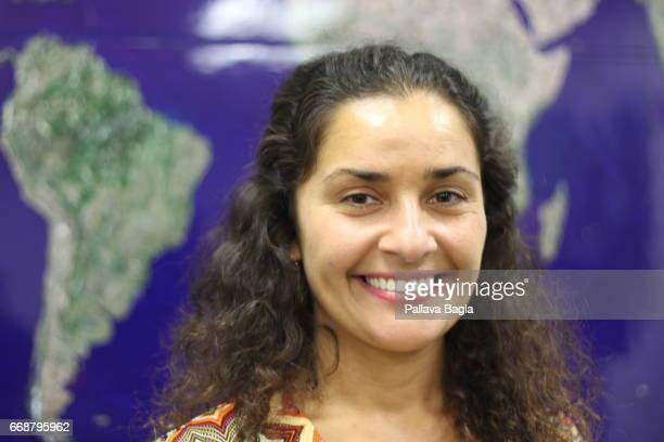 ANGELES USA APRIL 13 Dr Anita Sengupta a scientist at the Jet Propulsion Laboratory of NASA in Pasadena poses on April 13 2017 in Pasadena California...